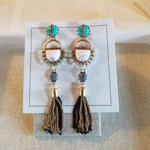 Stella & Dot Totem Tassel earrings